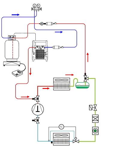 Схема отключения компрессора
